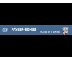 Бонусы на Payeer